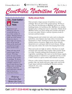 Cent$ible Nutrition News, February/March 2014