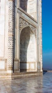 Close up of the Taj Mahal, Agra, India