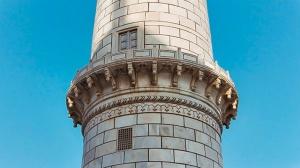 Pillar, Taj Mahal, Agra, Indai